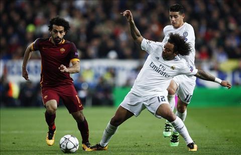 Marcelo vs Salah