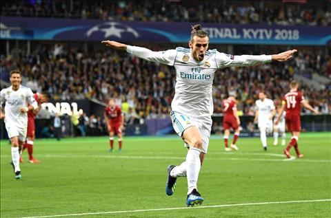 Real Madrid v Liverpool Bale ghi ban