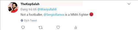 Sergio Ramos bị tổng sỉ vả sau đòn hạ gục Salah như võ sỹ MMA hình ảnh 2
