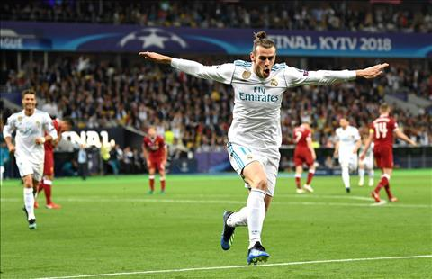 Real Madrid v Liverpool Bale ghi ban