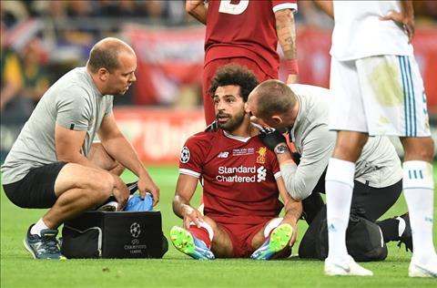 Mohamed Salah cua Liverpool