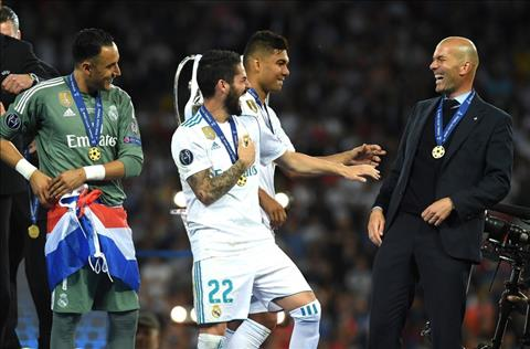 Zidane cung hoc tro Real