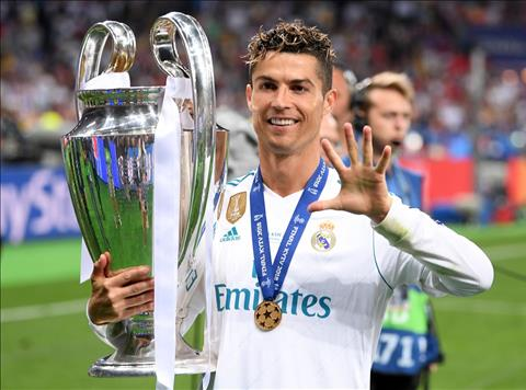 Cristiano Ronaldo vô địch Champions League lần thứ 5, khinh Bale hình ảnh