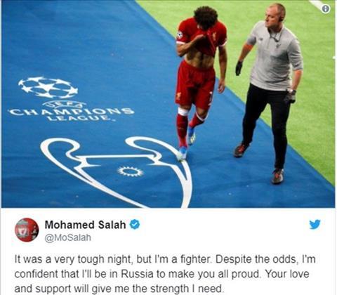 Salah lên tiếng về khả năng dự World Cup hình ảnh