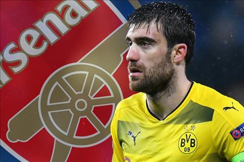 Arsenal sắp mua được Sokratis của Dortmund hình ảnh