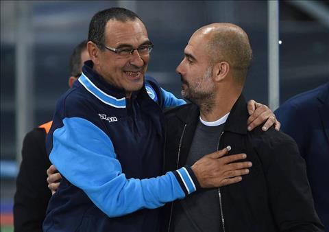 HLV Pep Guardiola của Man City háo hức khi Chelsea bổ nhiệm Sarri hình ảnh