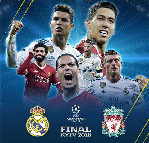 Real Madrid vs Liverpool dai