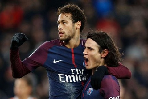 Cavani noi ve moi quan he voi Neymar