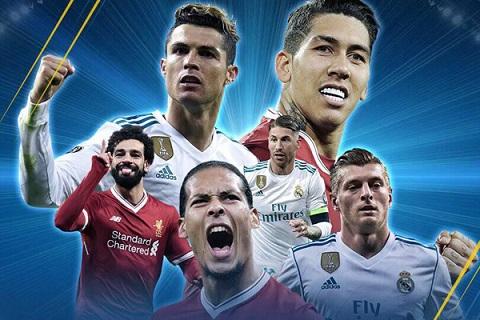 Liverpool vs Real Madrid chung ket C1