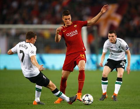 Milner phat bieu ve tran Roma vs Liverpool