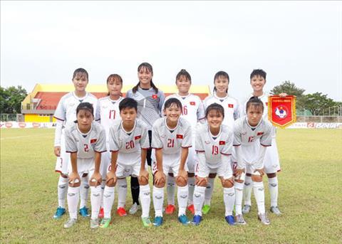 Ket qua U16 nu Viet Nam vs U16 nu Singapore 4-0 AFF Cup 2018 hinh anh