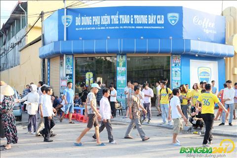 Cua hang bay ban nhung mon do luu niem cua CLB Thanh Hoa