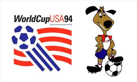 World Cup 1994 logo va linh vat
