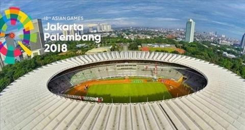 Môn bóng đá nam ASIAD 2018 có quy mô tương tự World Cup 2018 hình ảnh