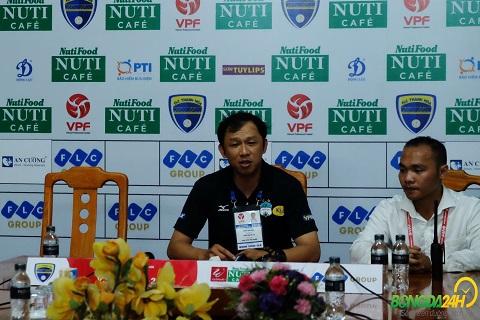HLV HAGL chia sẻ sau trận thắng đậm bất ngờ trước Khánh Hòa hình ảnh