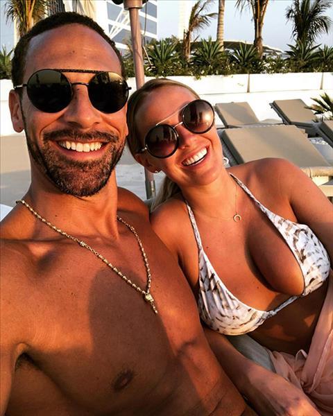 Cựu trung vệ Rio Ferdinand cưới vợ lần hai hình ảnh