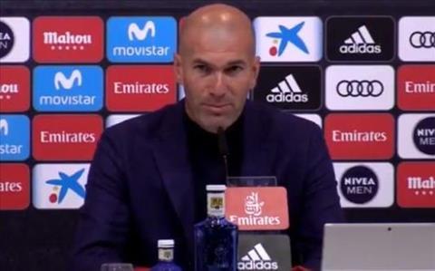 Florentino Perez phát biểu về Zinedine Zidane hình ảnh