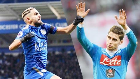 Chuyen nhuong Man City 2018 chi 102 trieu bang mua Jorginho va Mahrez
