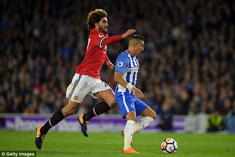 Fellaini vs Brighton