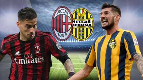 Nhan dinh Milan vs Verona 23h00 ngay 55 Serie A 201718 hinh anh
