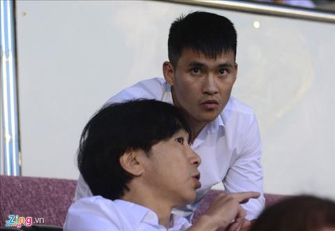 Sau khi moi HLV Miura dan dat CLB TP.HCM chua lau, Cong Vinh gio da roi doi bong. Anh: Nguyen Tri.