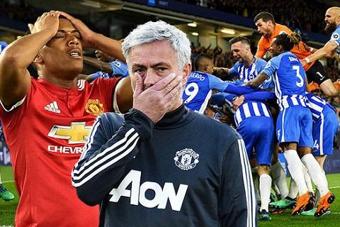 Brighton 1-0 MU Mourinho