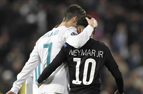 Neymar muon choi cung Ronaldo tai Real Madrid hinh anh
