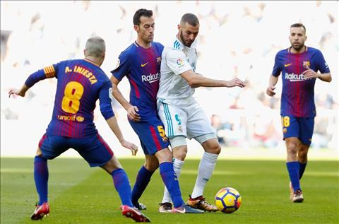 Real Madrid vs Barcelona Iniesta