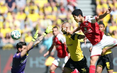 Clip ban thang Dortmund vs Mainz 1-2 Vong 33 Bundesliga 201718 hinh anh