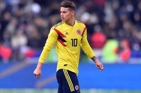 James Rodriguez cua Colombia