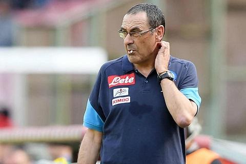 Maurizio Sarri dan dat Chelsea thay Conte o He 2018 hinh anh