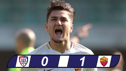 Ket qua Cagliari vs Roma 0-1 tuong thuat vong 36 Serie A 201718 hinh anh