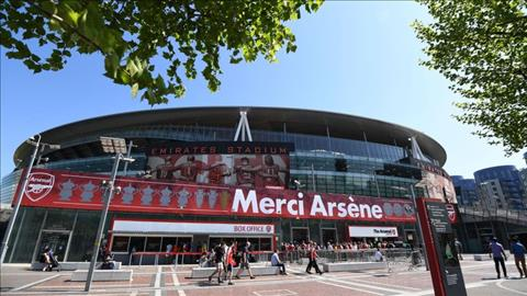 San Emirates la di san cua Arsene Wenger.
