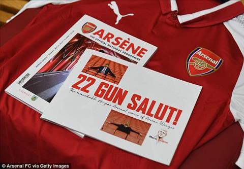 22 nam gan bo, Arsene Wenger tu vi day la mot chuyen tinh.