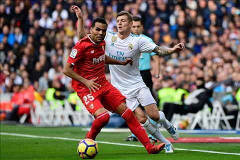 Real Madrid vs Sevilla Kroos
