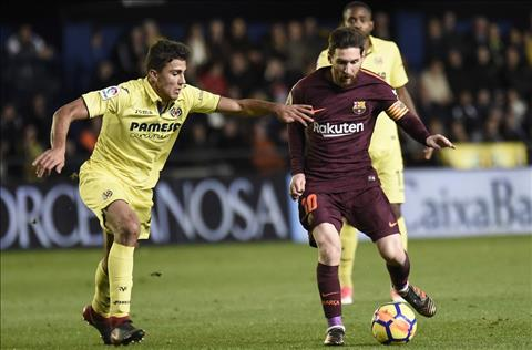 Villarreal vs Barcelona Rodri va Messi