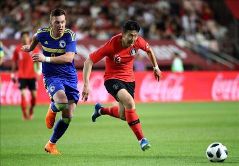 Kết quả Hàn Quốc vs Bosnia 1-3 giao hữu quốc tế hôm nay hình ảnh