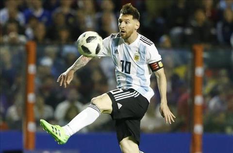 Messi tren DT Argentina