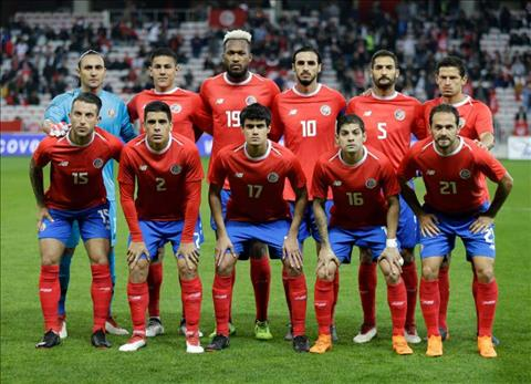 Danh sach doi tuyen Costa Rica tai World Cup 2018