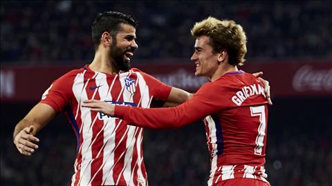 Diego Costa hy vọng Griezmann ở lại Atletico hình ảnh