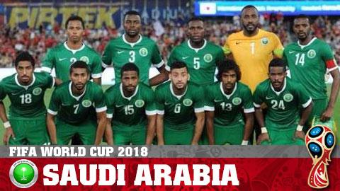 Lịch thi đấu đội tuyển Saudi Arabia World Cup 2018, LTĐ WC 2018 hình ảnh
