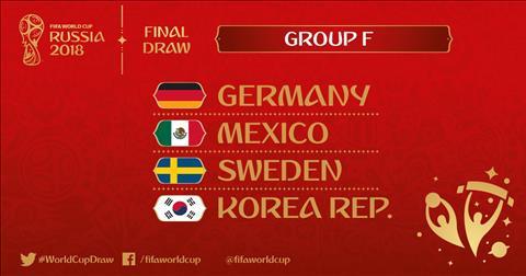 Lịch thi đấu bảng F World Cup 2018, LTĐ bảng F World Cup 2018 hình ảnh
