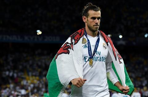 guong mat phan cam Gareth Bale