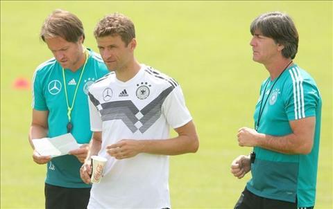 HLV Joachim Low bảo vệ Muller bất chấp phong độ