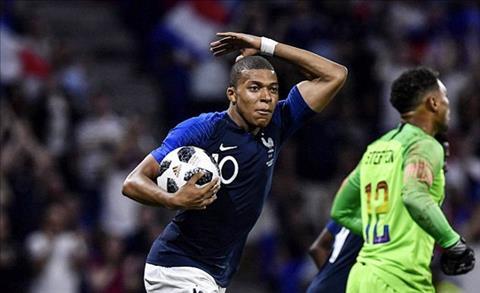 Kết quả Pháp vs Mỹ 1-1 trận đấu giao hữu quốc tế đêm qua hình ảnh
