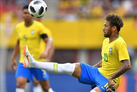 Neymar cua Brazil