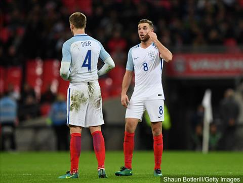 Eric Dier hay Jordan Henderson cho DT Anh tai World Cup 2018?