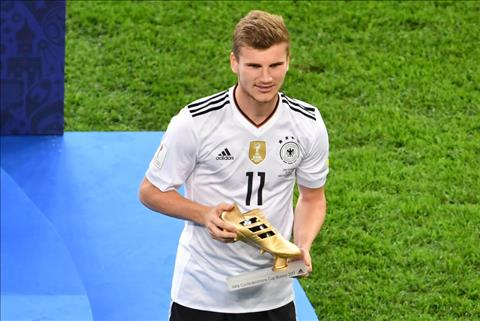 Timo Werner gianh Chiec giay vang