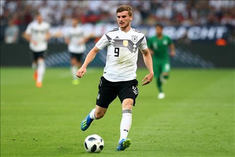 Timo Werner phát biểu về ĐT Đức và chiến dịch World Cup 2018 hình ảnh