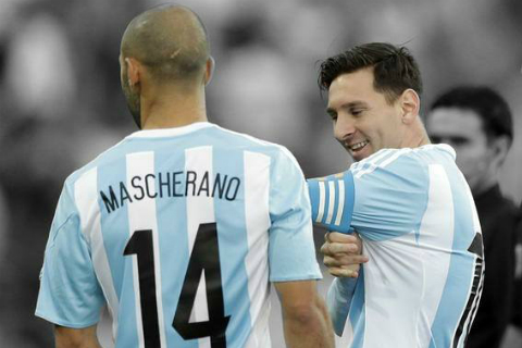 Javier Mascherano Người thủ lĩnh đứng sau cái tên xuất sắc nhất hình ảnh